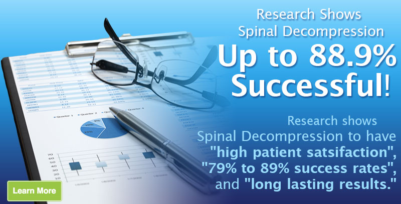 Research Shows Spinal Decompression Up to 88.9% Successful